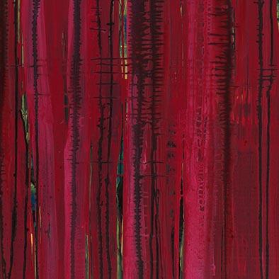 Ohne Titel (Hitze), 2012, Acryl auf Nessel, 105x135 cm (Ausschnitt)