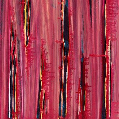 Ohne Titel, 2012, Acryl auf Nessel, 70x80 cm (Ausschnitt)