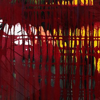 Durchblick, 2012, Acryl auf Nessel, 80x70 cm (Ausschnitt)