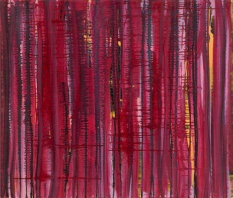 Fuerte, 2013, Acryl auf Nessel, 115x135 cm