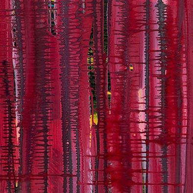 Fuerte, 2013, Acryl auf Nessel, 115x135 cm (Ausschnitt)