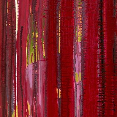 Verdeckt, 2013, Acryl auf Nessel, 120x100 cm (Ausschnitt)
