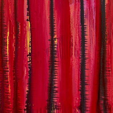 Verschlossen, 2012, Acryl auf Nessel, 120x100 cm (Ausschnitt)