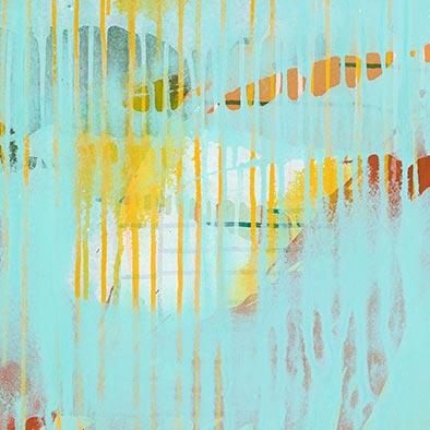 Januarlicht II, 2013, Acryl auf Nessel, 80x70 cm (Ausschnitt)