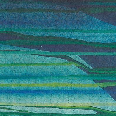 Unter Wasser, 2011, Acryl auf Nessel, 80x70 cm (Ausschnitt)