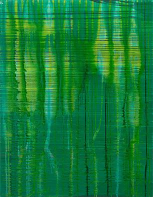 Backwater I, 2011/2013, Acryl auf Nessel, 135x105 cm