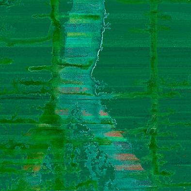 Backwater I, 2011/2013, Acryl auf Nessel, 135x105 cm (Ausschnitt)