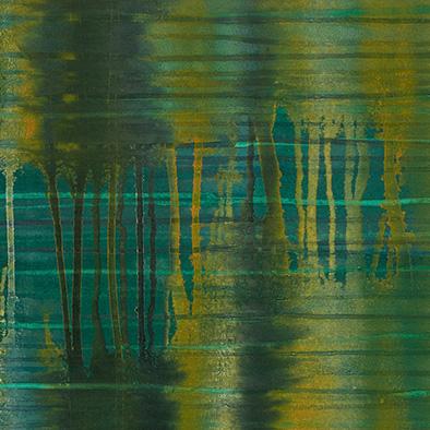 Backwater II, 2008/2013, Acryl auf Nessel, 120x100 cm (Ausschnitt)