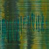 Backwater II, 2008/2013, Acryl auf Nessel, 120x100 cm