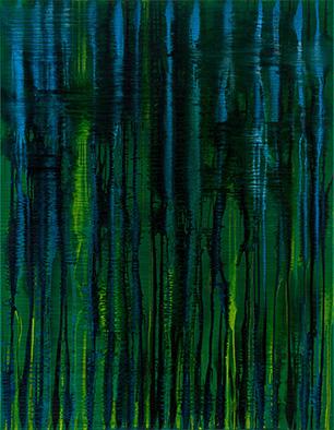 Backwater III, 2008/2014, Acryl auf Nessel, 135x105 cm