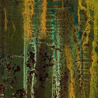 Backwater IX, 2012/2014, Acryl, Schellack auf Nessel, 80x50 cm (Ausschnitt)
