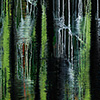 Backwater V, 2008/2014, Acryl auf Nessel, 135x105 cm