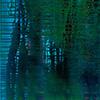 Backwater VIII, 2010/2014, Acryl, Schellack auf Nessel, 120x100 cm