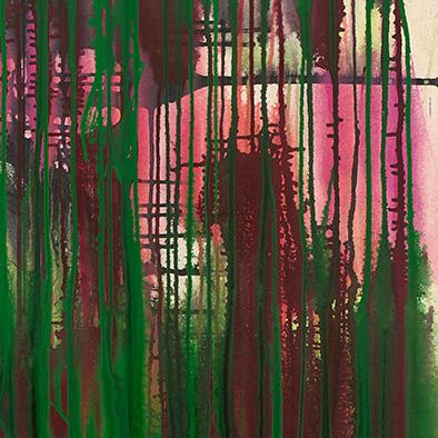 Nicht gewollt, 2013, Acryl auf Nessel, 120x100 cm (Ausschnitt)