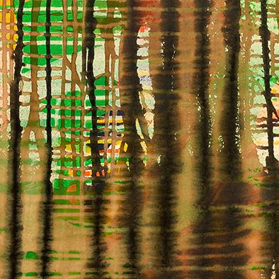 Oktober II, 2013, Acryl auf Nessel, 70x80 cm (Ausschnitt)