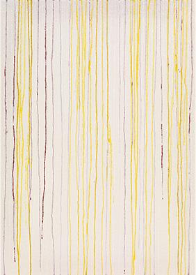 Transparenz und Dichte III, 2013, Acryl auf Nessel, 70x50 cm