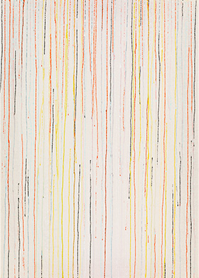 Transparenz und Dichte V, 2013, Acryl auf Nessel, 70x50 cm