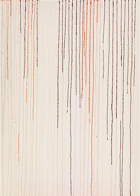 Transparenz und Dichte VI, 2013, Acryl auf Nessel, 70x50 cm