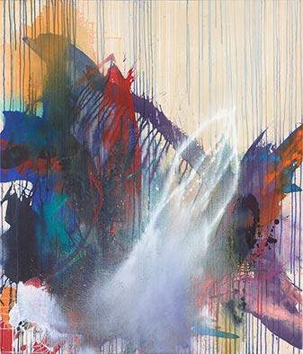Unabänderlich, 2015/2016, Acryl auf Nessel, 135x115 cm