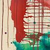 Tanz II, 2015, Acryl auf Nessel, 135x70 cm