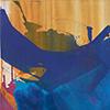 Aus der Tiefe, 2015, Acryl auf Nessel, 120x100 cm