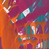 In Bewegung, 2014/2015, Acryl auf Nessel, 70x90 cm, Diptychon