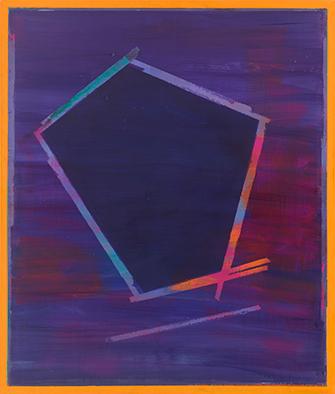 Entschieden, 2009/2020, Acryl auf Nessel, 135x115 cm