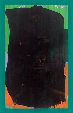Erinnerung an A.R.I, 2015/2020, Acryl auf Nessel, 70x45 cm