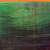 Nachhall von Grün/Versunken, 2017/2019, Acryl auf Nessel, 135x120 cm