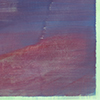 Blau im Regen/Vernebelt, 2011/2019, Acryl auf Nessel, 135x105 cm