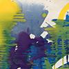 Frühlingssturm, 2020, Acryl auf Nessel, 80x70 cm