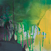 Grün ist Kult II, 2016, Acryl auf Nessel, 135x120 cm